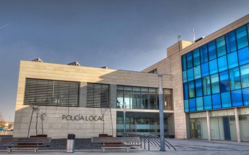 Sede central de la Policía Local de Rivas Vaciamadrid (Ayuntamiento de Rivas Vaciamadrid).