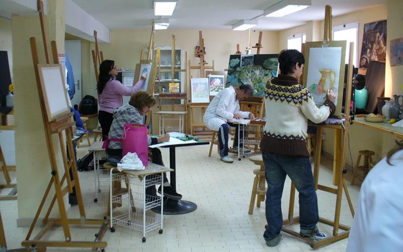 Covibar taller de pintura