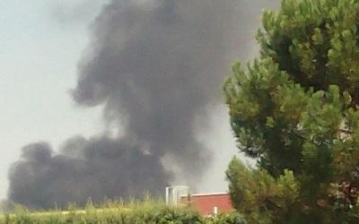 Segundo incendio en pocas horas junto al sector 4 de la Cañada: desalojadas 16 viviendas