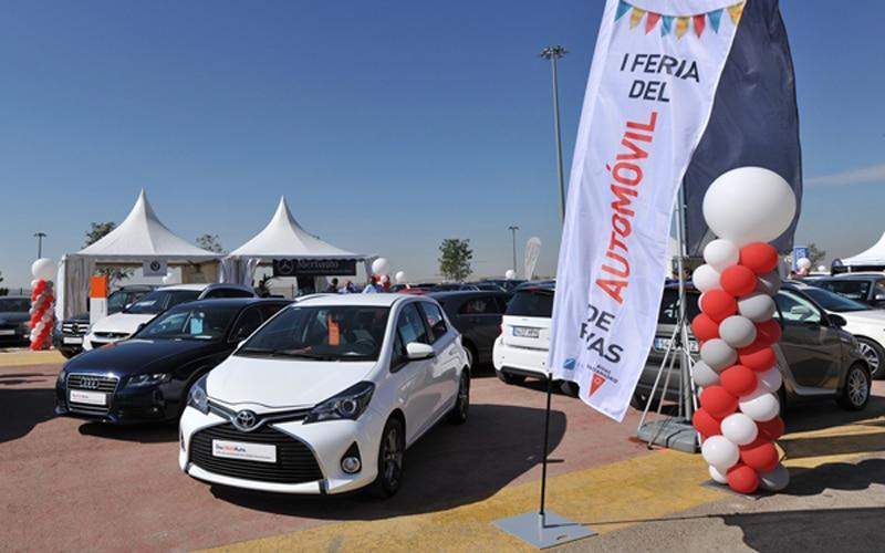 Feria del Automóvil de Rivas Vaciamadrid (Fuente: Ayuntamiento de Rivas Vaciamadrid)