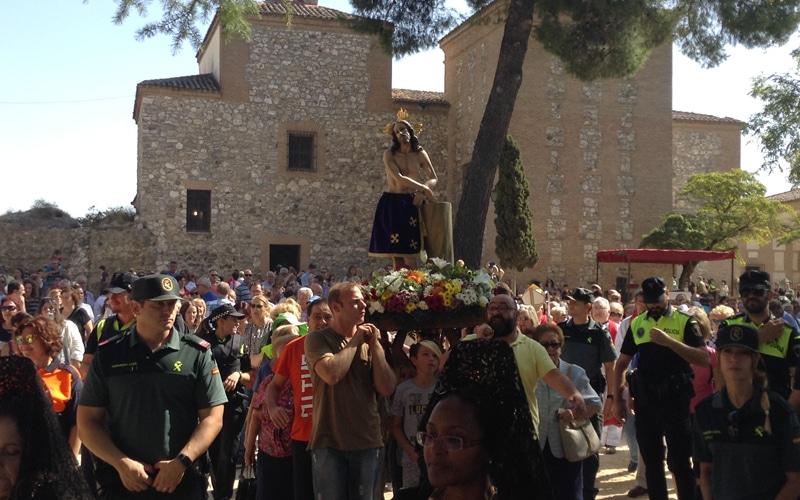 El Cristo de Rivas se da un baño de multitudes