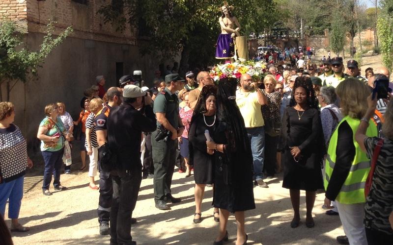 Procesión del Santísimo Cristo de los Afligidos de Rivas (Fuente: Planeta Rivas)