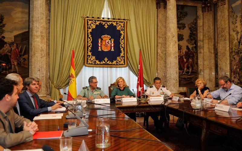Comisión de seguridad de la Cañada Real (julio 2015) (Fuente: Ayuntamiento de Madrid)
