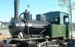 Locomotora de vapor del Tren de Arganda (Fuente: Archivo Ayuntamiento de Arganda del Rey)