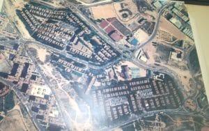 Foto aérea de la urbanización Pablo Iglesias (Fuente: Planeta Rivas)