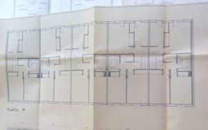 Plano original de laurbanización Pablo Iglesias (Fuente: Planeta Rivas).