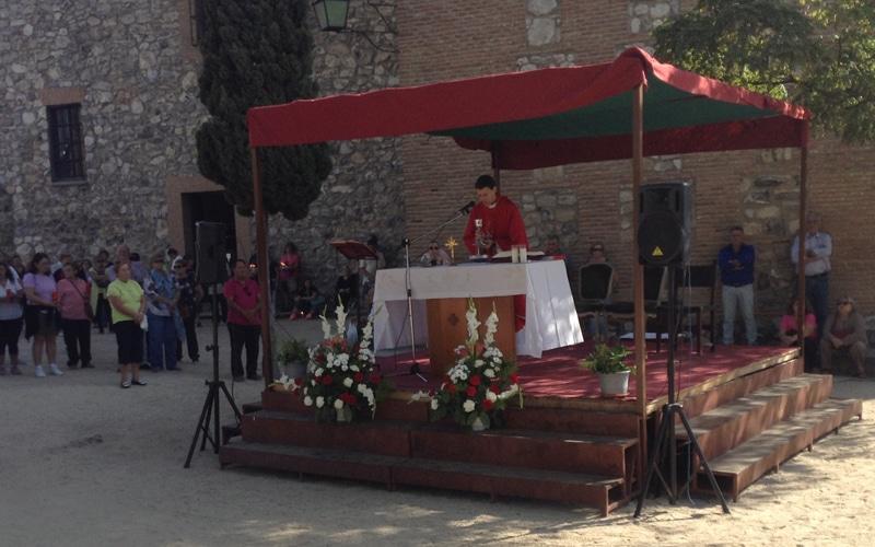 Misa de la procesión del Santísimo Cristo de los Afligidos de Rivas