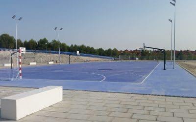 Rivas propone adelantar dinero para construir ya el pabellón deportivo del CEIPSO La Luna
