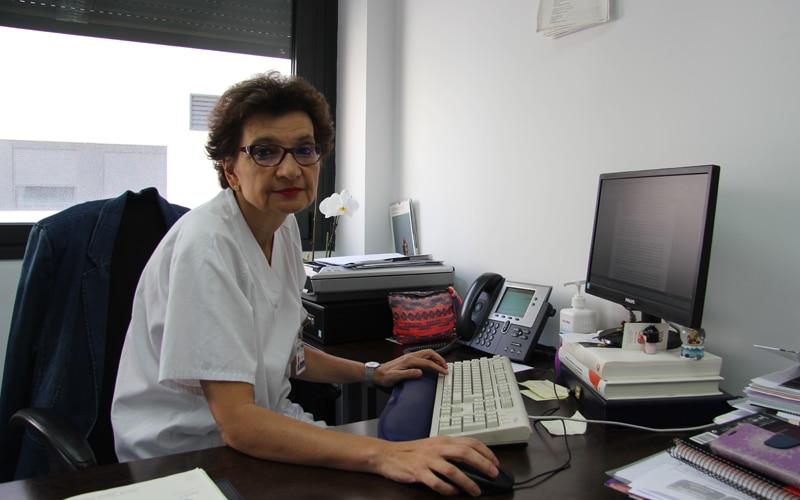 Encarna Mollejo, jefa del servicio de Psiquiatría del Hospital del Sureste