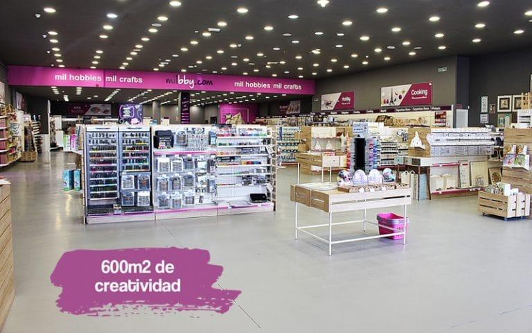Milbby tienda de manualidades en Rivas