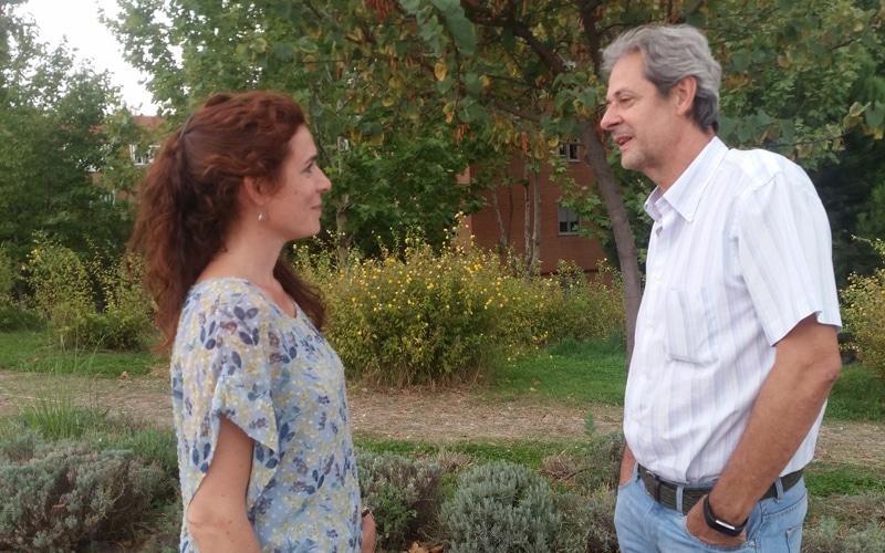 Cristina Arévalo y Ricardo Mur, concejales no adscritos en Rivas