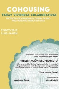 Jornada informativa sobre cohousing en Rivas