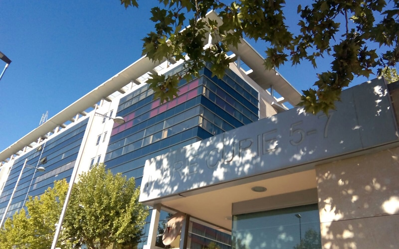 Edificio Alfa en Rivas, donde se instalará la sede social de Eurona