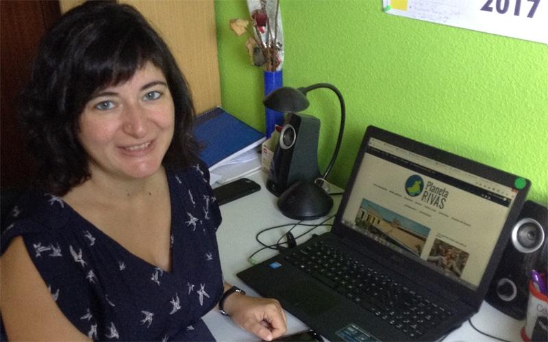 Celia González, directora de Planeta Rivas, galardonada por la Guardia Civil de Madrid por su labor periodística