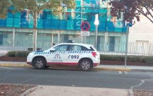 Coche de la Policía Local de Rivas Vaciamadrid (Fuente: Diario de Rivas)