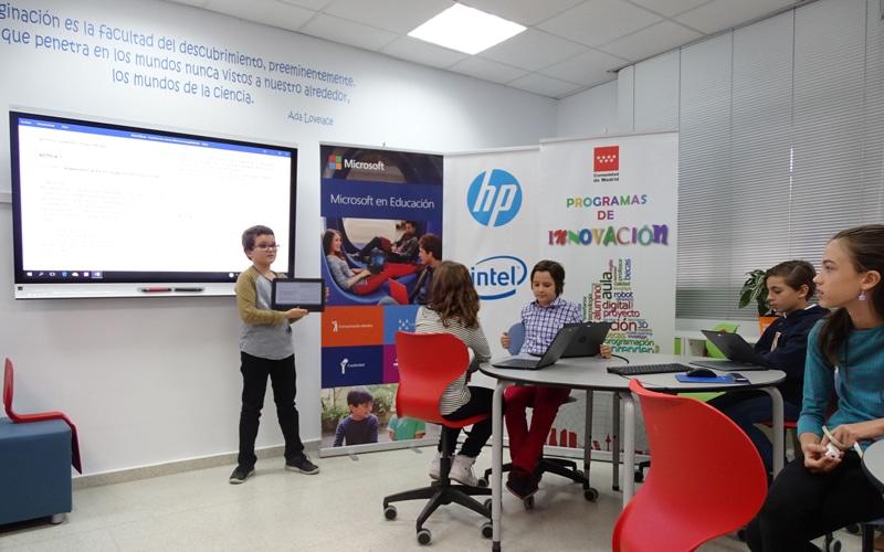 El CEIP José Hierro estrena un aula de nuevas tecnologías para la educación pionera en España