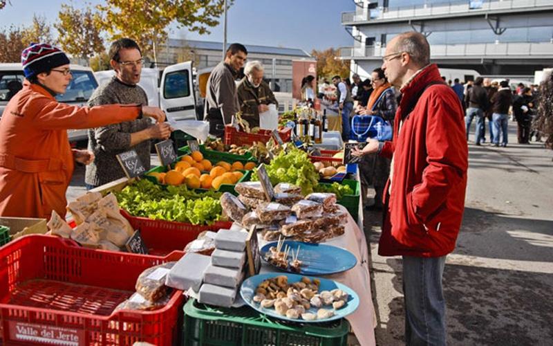 Mercadillo agroecológico de Rivas (Fuente: Ayuntamiento de Rivas Vaciamadrid)