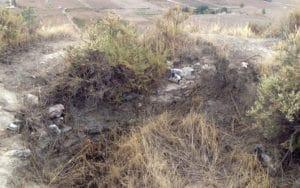 Restos de torre en las ruinas del castillo de Ribas de Jarama (Fuente: Diario de Rivas)