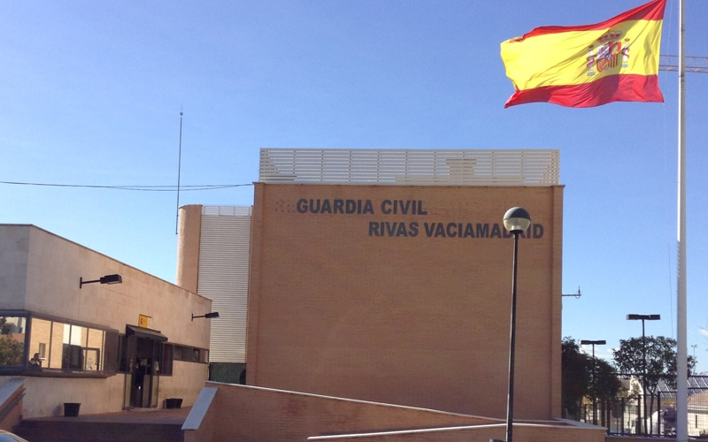 Así funciona el puesto de Guardia Civil de Rivas