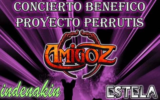 Este 'finde', partido y concierto benéficos a favor de Proyecto Perrutis