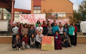 Encierro en el colegio Dulce Chacón de Rivas Vaciamadrid