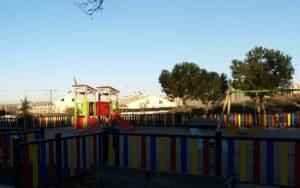 Área de juegos infantil en el paseo de las Provincias de Rivas