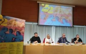 Presentación de LesGaiCineMad en Rivas, Gustavo Pecorero, José Alfaro, Samantha Flores
