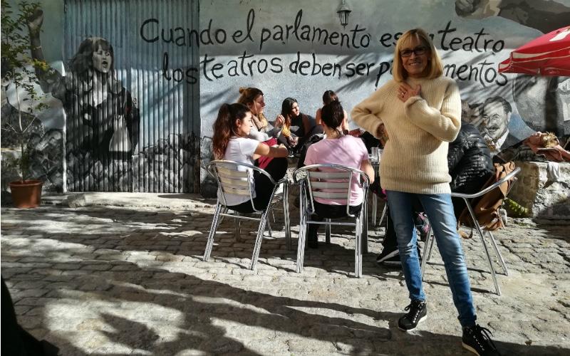 """Cristina Rota: """"Rivas es como un gueto donde todo el mundo tiene alguna inquietud"""""""