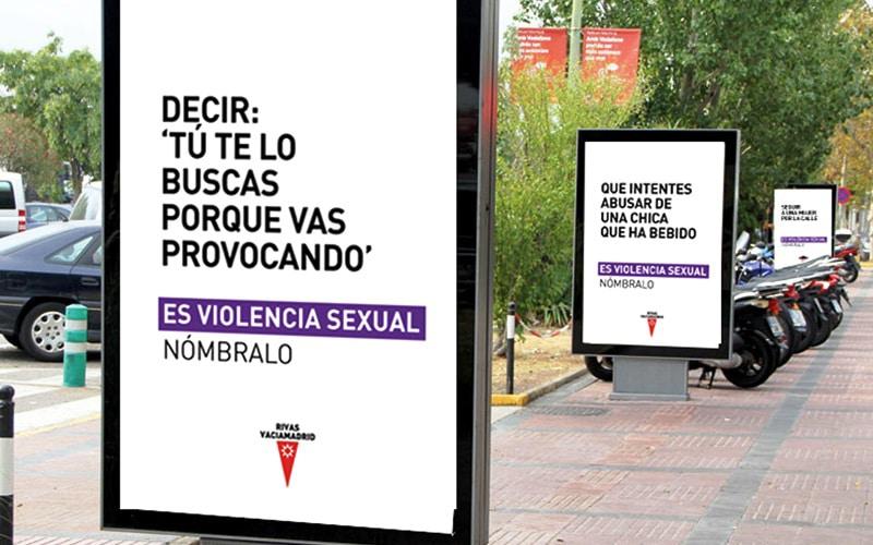 Campaña contra la violencia sexual en Rivas Vaciamadrid
