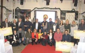 Clientes ganadores del I Tour del Mueble y la V Ruta de la Cuchara de Arganda (Fuente: Asearco).
