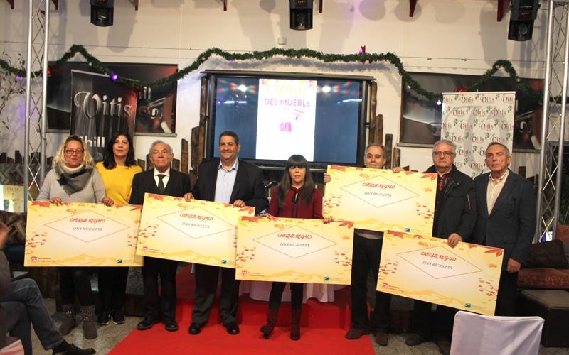 Entrega de premios del I Tour del Mueble y la V Ruta de la Cuchara de Arganda del Rey