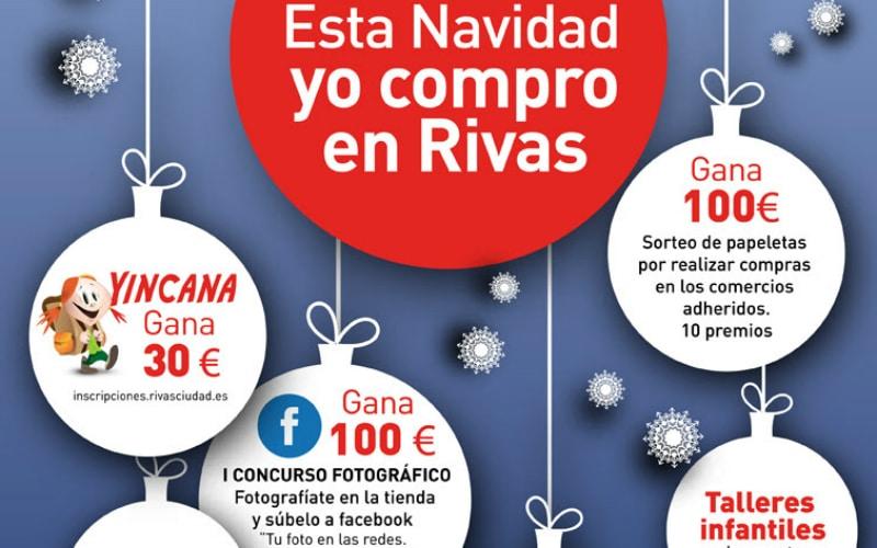 Rivas apuesta por el comercio local para las compras navideñas