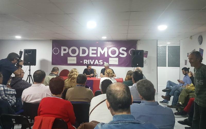 Primarias en Podemos Rivas: Rivas Avanza pide explicaciones a la dirección del partido sobre la falta de acuerdo con IU