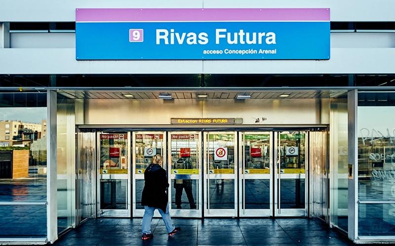 Estación de Metro de Rivas Futura (Fuente: Ayuntamiento de Rivas Vaciamadrid)
