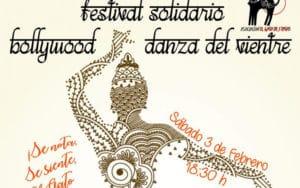 Cartel festival solidario de danza El gato de 5 patas (Fuente: Asociación El gato de 5 patas).