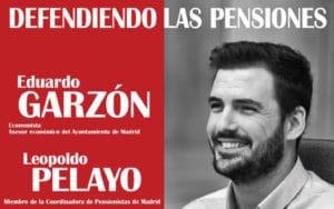 Cartel de acto público en defensa de las pensiones (Plataforma de Rivas en Defensa de las Pensiones)