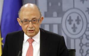 Cristóbal Montoro, ministro de Hacienda (Fuente: Gobierno de España)
