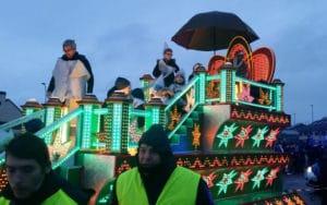 Cabalgata de los Reyes Magos de Rivas Vaciamadrid de 2018 (Fuente: Diario de Rivas)