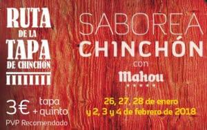 Cartel VII Ruta de la Tapa de Chinchón (Fuente: Ayuntamiento de Chinchón)