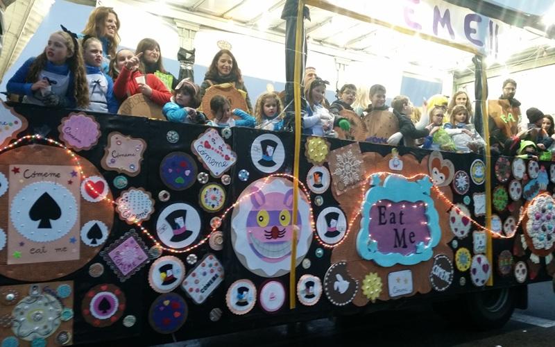 Cabalgata de los Reyes Magos de Rivas Vaciamadrid de 2018