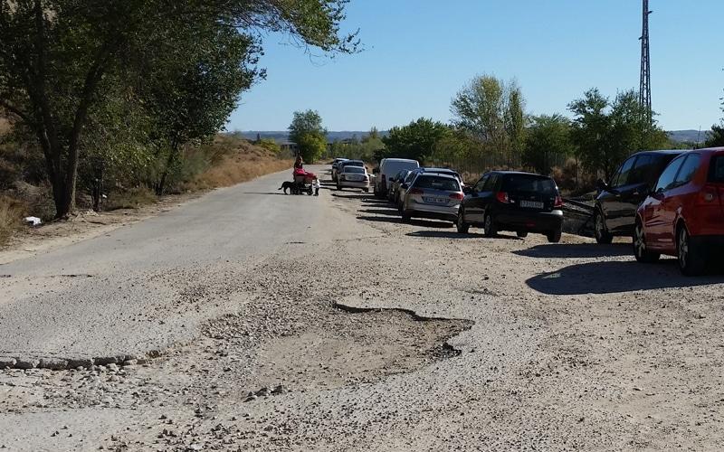 Rivas corta el acceso de vehículos a la Laguna del Campillo los fines de semana y festivos