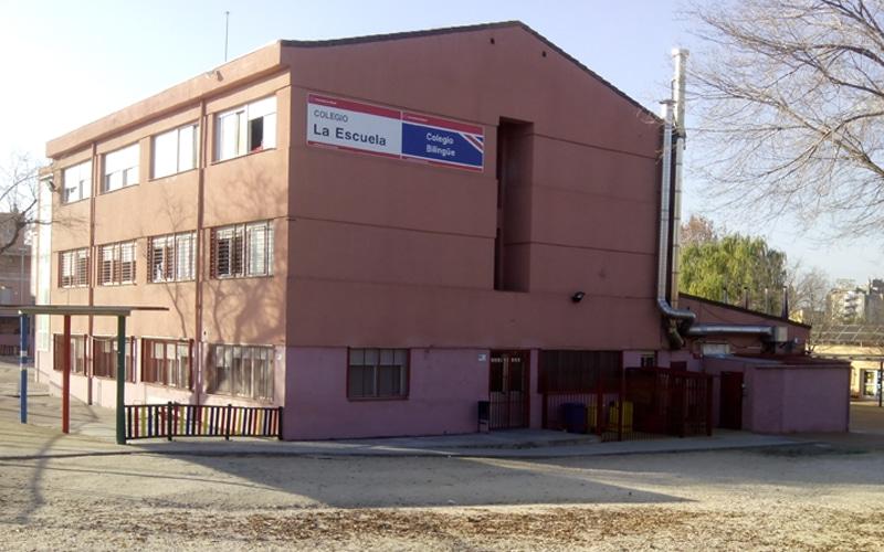 Colegio Público La Escuela, en Rivas Vaciamadrid