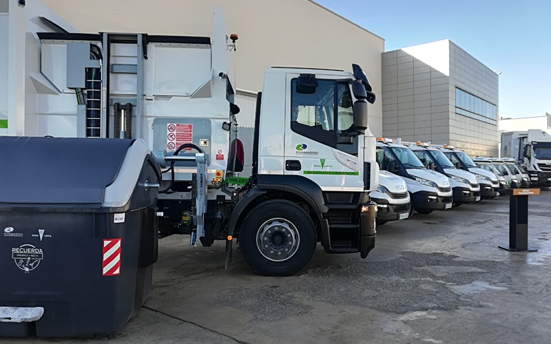 Nuevos vehículos adquiridos por Rivamadrid