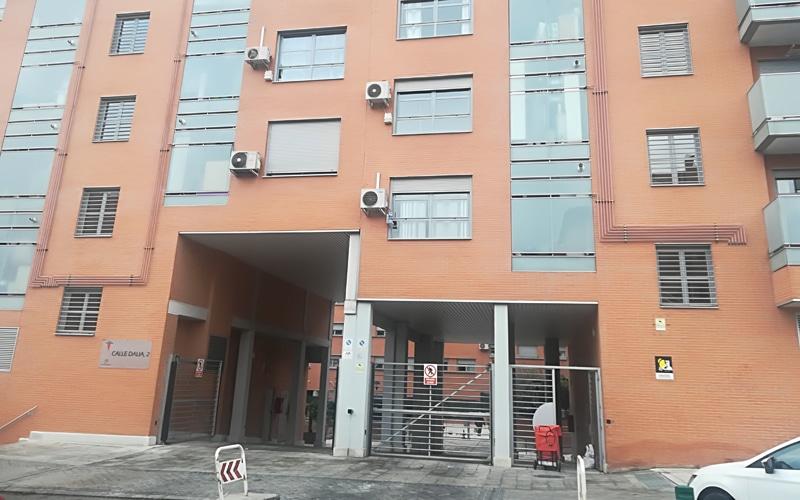 Fachada de la calle de la Dalia número 2, donde residía Matilde De Castro (Fuente: Diario de Rivas)