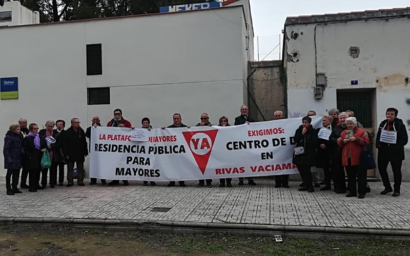 La reserva del suelo para la residencia pública de mayores, aprobada sin consenso en el Pleno de Rivas tras un duro debate