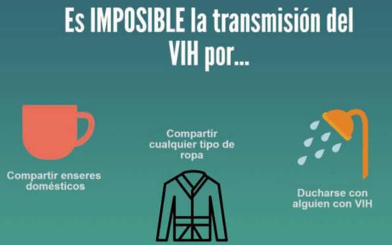Cartel de campaña de pruebas de detección de VIH en Rivas Vaciamadrid (Fuente: Cruz Roja).