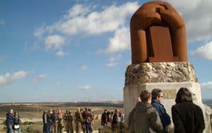 Monumento a las Brigadas Internacionales (Fuente: Ayuntamiento de Rivas Vaciamadrid)