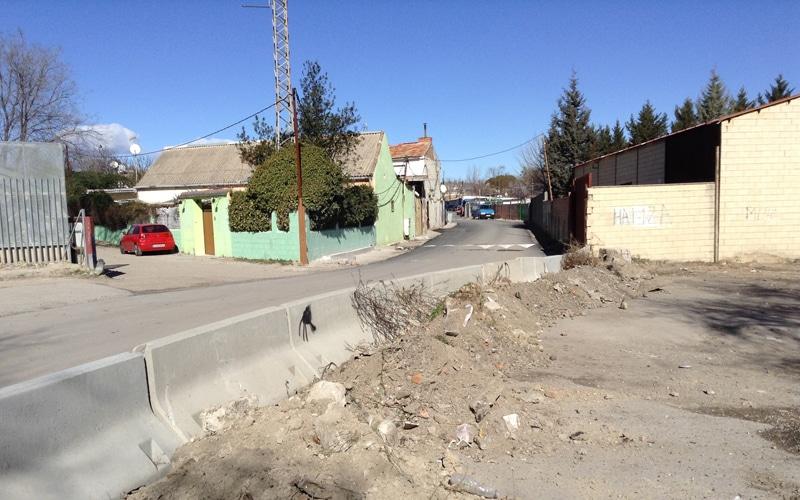 Rivas insiste en reclamar un plan de seguridad para la Cañada Real