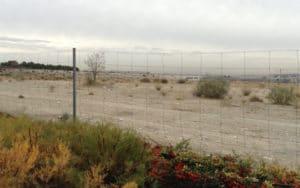 Parcela donde se construirá la ciudad deportiva del barrio de La Luna (Fuente: Diario de Rivas).