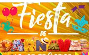 Cartel de Carnaval de Campo Real (Fuente: Ayuntamiento de Campo Real)